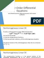 3. Undetermined Coefficients and Cauchy-Euler.pptx