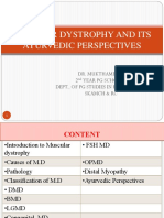 Muscular Dystrophy and Its Ayurvedic Perspectives