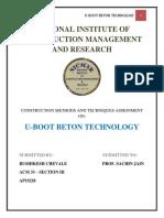 Cmt - U-boot Beton Technology