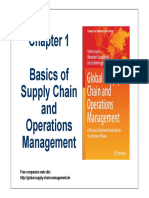 Chapter 1 Basics of Supply Chain and Operations Management