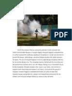 Narrative Report in Health