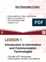 L1 Introduction to Information and Communication Technology (2)
