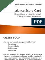BSC FODA y Fuerzas Competitivas