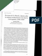 Fernando Del Rey - Por Tierras de La Mancha. Apuntes Sobre La Violencia Revolucionaria en La Guerra Civil Española (1936-1939) (Alcores, 11, 2011)