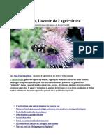 L'agroécologie, l'avenir de l'agriculture