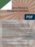 Japanese Period in Philippine Literature