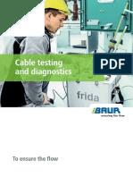 BR 821-045 BAUR Product Brochure Cable Testing Diagnostics En