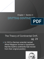 Chapter 1-3  Drifting Continents (1).ppt