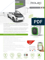 WallPod EV Charge.online Socketed (GPRS) Data Sheet - 02