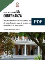 Informe de Gobernanza Ac2030