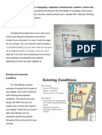 Elements of Site Development Planning