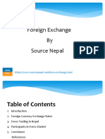 Foreign Exchange Market in Nepal
