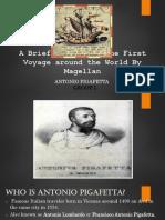 A brief summary about First Voyage of Magellan around the World