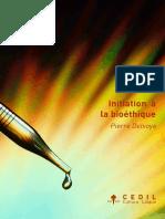 Pierre Delvoye (2011) - Initiation à la bioéthique