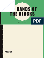 The Hands of the Blacks