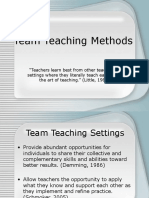 Team Teach Methods