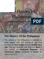 The History of Philippines