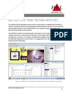 Application Note - Battery Lifetime Testing