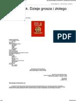 Jerzy Jarek. Dzieje grosza i złotego Część 5 Porządkowanie mennictwa.pdf