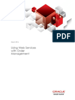 0 Using Web Services With Order Management Cloud