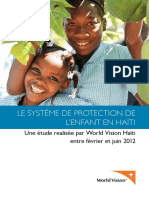 Le Systeme de Protection de Le Enfant in Haiti