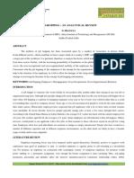 2-78-1396890610-8. Manage-JOB-HOPPING - AN ANALYTICAL REVIEW-D. Pranaya.pdf