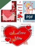 Valentines Program