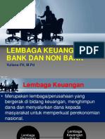 Lembaga Keuangan Bank Dan Non Bank