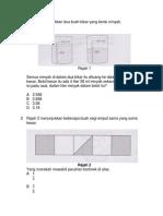 Ujian Math Kertas 1
