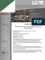 QP IAS Q3001 Instrumentation Technician (Control Valves)