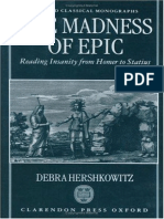 (Oxford Classical Monographs) Debra Hershkowitz - The Madness of Epic_ Reading Insanity From Homer to Statius-Oxford University Press, USA (1998) (1)