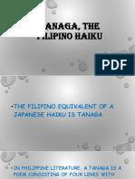 Tanaga, The Filipino Haiku
