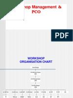 Workshop Organisation