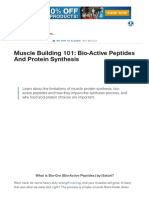 Muscle Building 101_ Bio-Active Peptides and Protein Synthesis _ Muscle & Strength