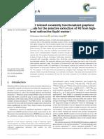 Acid tolerant covalently functionalized graphene oxide