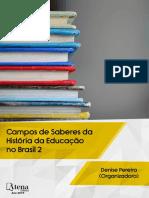 Campos de Saberes Da Historia Da Educacao No Brasil 2
