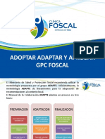 Adoptar Adaptar y Aprobar Gpc Foscal