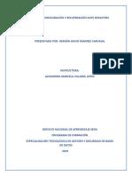 AA2-5 Elaborar Un Plan de Configuración y Recuperación Ante Desastres