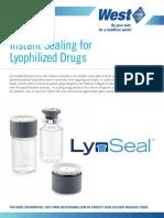 LyoSeal Information Sheet