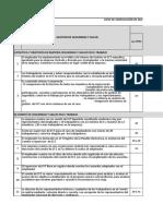 Lista de Verificacion de Materias de SST