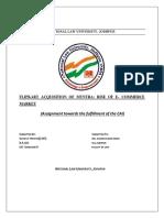 Merger and Acquisition of Flipkart (1)