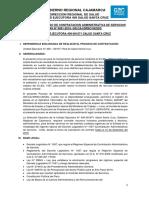 Bases Del Concurso Cas n 001 2019 Salud Santa Cruz