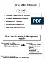 New Directions in Strategic Thinking