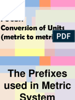 1. Conversion Metric to Metric (1).pps