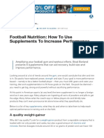 Football Nutrition_ How to Use Supplements to Increase Performance _ Muscle & Strength