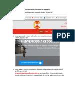 Instructivo Plataforma 360 Docentes 2018 Nueva