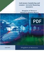 Envoi Par e Mail MENAFATF Morocco Mutual Evaluation 2019