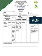 Anexo 5 Registro de Apoyos