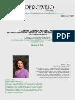 Teatro Latino americano comteporâneo