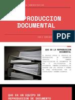 Reproduccion Documental